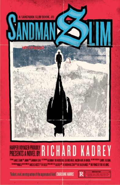 The UK Sandman Slim paperback cover.