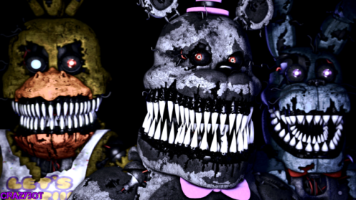 five nights at freddys 4 teaser tumblr