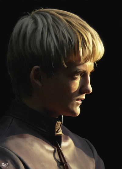 His grace, the one true king and ruler of Westeros, Joffrey Baratheon.  http://craigpaton.tumblr.com/