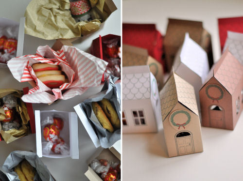 DIY: Paper Cookie Houses okay this is super adorable and it makes me want to bake  here's the how-to (X) complete with the template