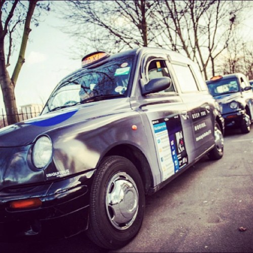 Blackberry 10 taxi cabs in London *_* #blackberry #blackberry10 #taxi #london #keepyoumoving #teamblackberry #blackberryz10