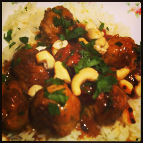 Thai Pork Meatballs