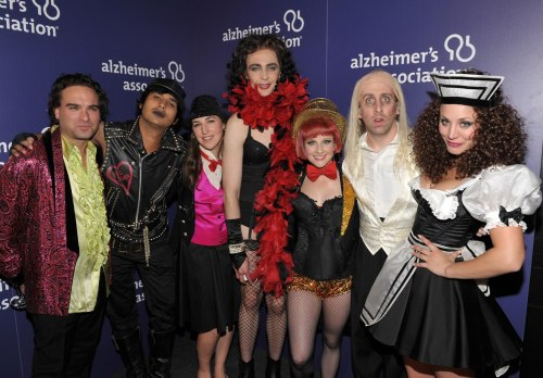 rubyanjel:  sheldony:  The Big Bang Theory cast performing the Time Warp on stage, and backstage A Night At Sardi's, 20th March 2013.  You know, I was expecting something like, I dunno, Hairspray, Mamma Mia, Cats… BUT NOT FREAKING ROCKY HORROR PICTURE SHOW   O.o