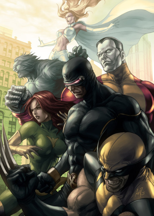 These Marvel Comic art pieces are so amazing. - ad http://bit.ly/Zn94hU