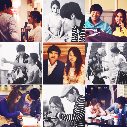 sharinna-rinna:  Ugh. Love this couple so much. <3 Ji Hyun Woo And Yoo In Na