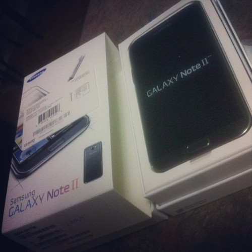 …official though. #samsunggalaxynote2 #goodbyeapple