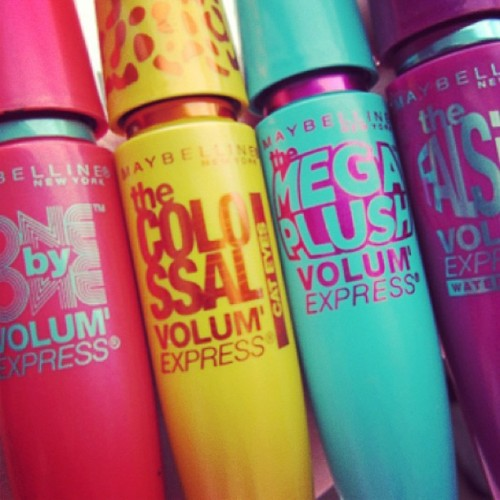 maybelline:  More mascara please.