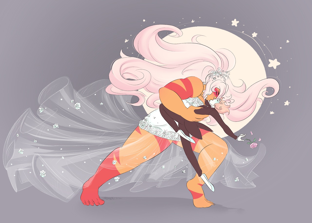 WELL its like a month and a half later than the original wedding gown jasper LOL BUT HERE IT IS FINALLY!!! The Jaspearl Wedding 💕