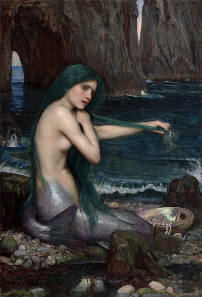 J. W. Waterhouse - A Mermaid