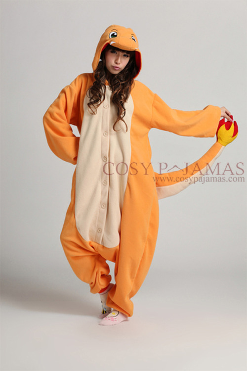pokemonpalooza:  Charmander Kigurumi Available HERE.