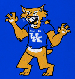University of Kentucky WILDCAT. He's freaking out because he loves school. Give it a vote and comment over HERE, thanks!