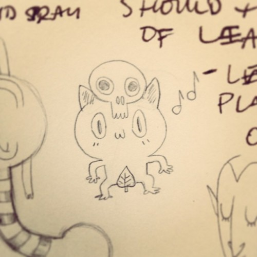 Found this doodle in my sketchbook! Heheh 🎵🎶