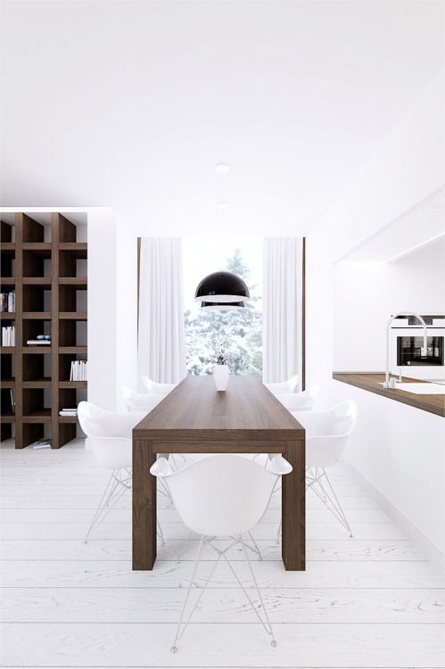 life1nmotion:  Winter houseby line-architects