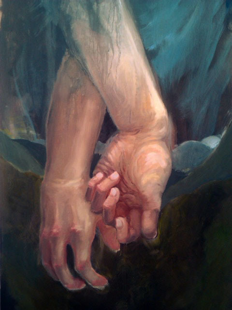 More hands! This painting is fun! :D