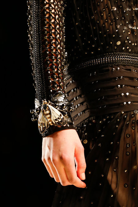 floraspice:  detail at Roberto Cavalli Fall/Winter 2013 | MFW