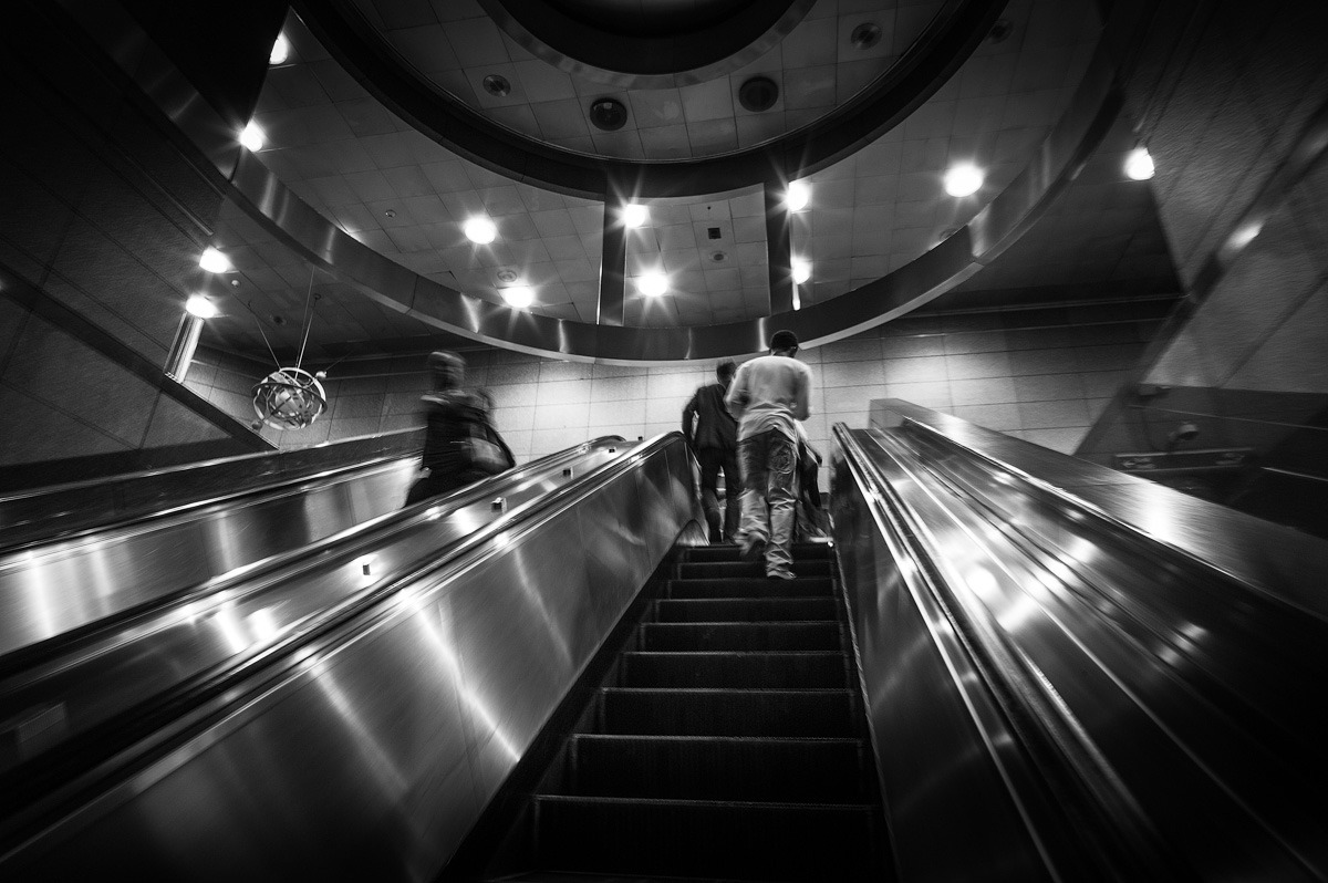 Subway exit, Pittsburgh, PA Leica M9 + 21mm 2.8 Elmarit