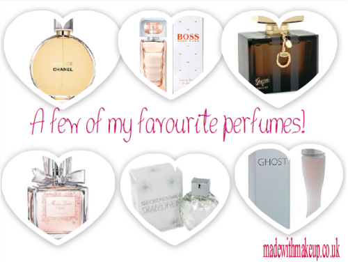 Just a small selection of my favourite perfumes! What's your signature scent?