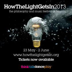 "Anna Dumitriu will be speaking at ""How The Light Gets In"" - the world's largest philosophy festival, on 29th May 2013. She is participating in a panel discussion with Julian Stallabrass and Lynne Segal, ""Of Wonder and Terror"" which discusses ""Turner and Shelley once dazzled us with sublime visions, but in the modern world cosmologists and biologists seem better able to evoke feelings of wonder and majesty than artists and poets. Does science now provide our access to the sublime, or does art still have the power to make us feel awe?"" She will also present a solo talk ""Confronting the Bacterial Sublime"" and explore the disintegrating boundaries between art and science with detours into vampirism, plague and genomic sequencing. Book tickets here."