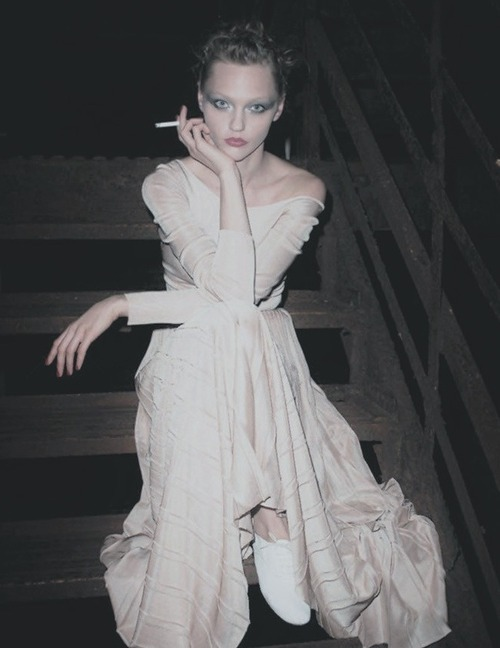 Sasha Pivovarova; Photographed by; Terry Richardson, Vogue Paris, with love.