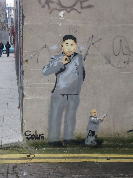criminalwisdom:  Dr. Kim Jong-Un in Ireland. Via Dangerous MInds