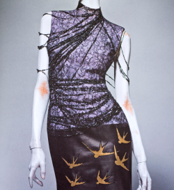 Alexander McQueen: Savage Beauty Book - Dress, Eclect Dissect, House of Givenchy Haute Couture F/W 1997-98