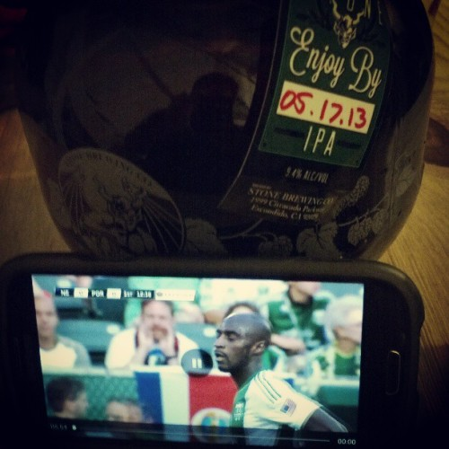 Portland Timbers on MLS Match Day… At a brewery. #thuglife #ptfc #rctid