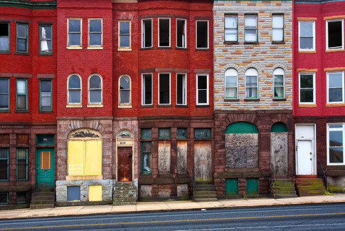 Abandoned Row Houses - Baltimore on Flickr.Abandoned Row Houses - Baltimore