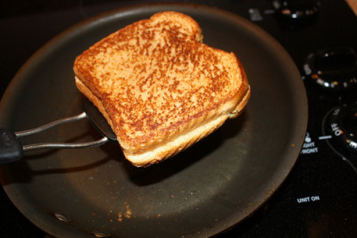 murrayscheese:  Grilled Cheese Month is still going on. It's a whole damn month! Make a grilled cheese this weekend and send us your recipe. We don't even need a pic. We know nobody got time for that.  Yeah man :)