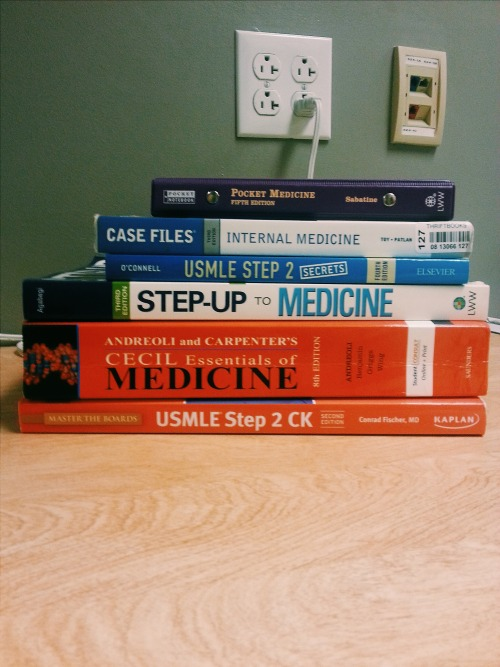 12 weeks of internal medicine, here I come!