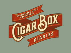dribbblepopular:  Cigar Box Diaries Original: http://bit.ly/149aptY