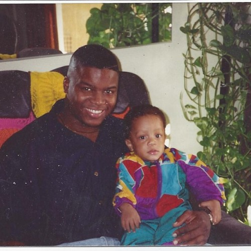 domdolo:  #tbt pops and me #domdololp 6.21