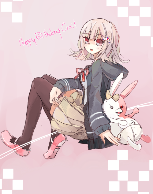 hey happy birthday to Croi! hmmm have a nanami that you should sleep more and play more good games and stay hopeful this year yah!