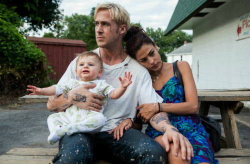 "ryan gosling & eva mendes in ""the place beyond the pines"""