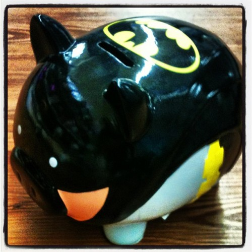 #batman #batpig #piggybank #money #dc #dcnation #comics #nerdgasm  (at Walmart Supercenter)