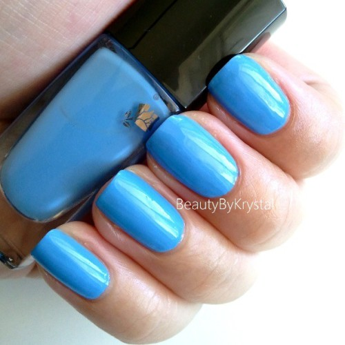 Here's the swatch of @lancomeusa Aqua Bleu, isn't it awwwmazing? ;) it's so bright and delicate, love it! #nails #nailsoftheday #nailswatch #nailpolish #nailoftheday #naillacquer #vernis #nailpolishaddict #nailblogger #polished #polishaddiction #polishswatch #polishreview #polishobsessed #polishcollector #Lancome #brightnails #iheartpolish