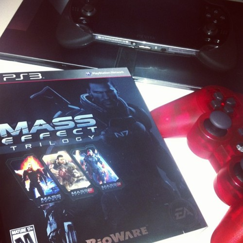 Finally playing this bad boy #ps3 #masseffect #gamer #kiljoyvideos #youtube #sablerage