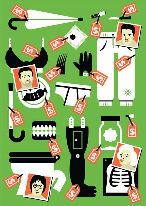 Illustration for Sukces magazine.