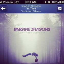 Sometimes i #listen to #pandora… #music #imaginedragons #itstime #song