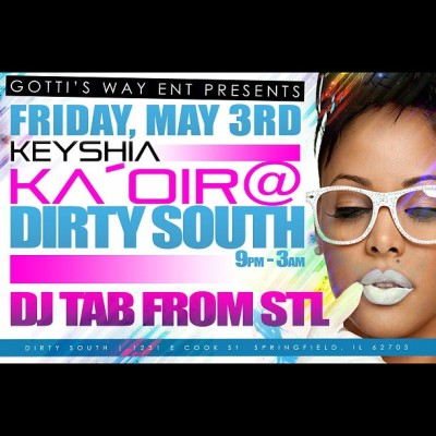 SPRINGFIELD IL meet me at  club #DirtySouth Tonight!!!! 💥🌟🎉