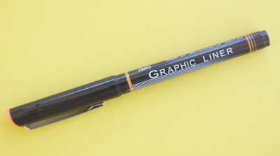 Ohto Graphic Liner 0.3I'd been hearing a lot of praise about the humble-looking Ohto Graphic Liner 0.3. For the…View Post