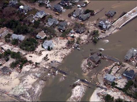 Future storms won't be named 'Sandy' (Photo: NBC News) The National Weather Service says the name Sandy won't be used for any future storms after it was assigned to the massive storm that hit the East Coast in 2012. More from NBC Nightly News with Brian Williams.