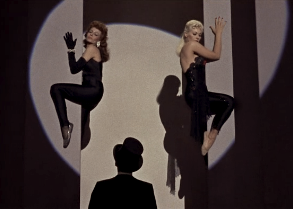 "a great scene from the movie ""pal joey"" with frank sinatra"