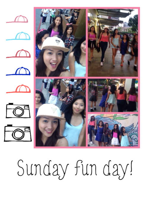 Sunday fun day with these girls! 👯👯👯 @nicholeskieee #phoebe #lorin #venice