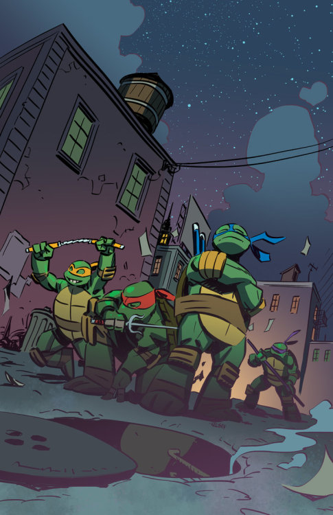 herochan:  Turtles Illustration by Kelsey Shannon DeviantART ll Tumblr ll Twitter