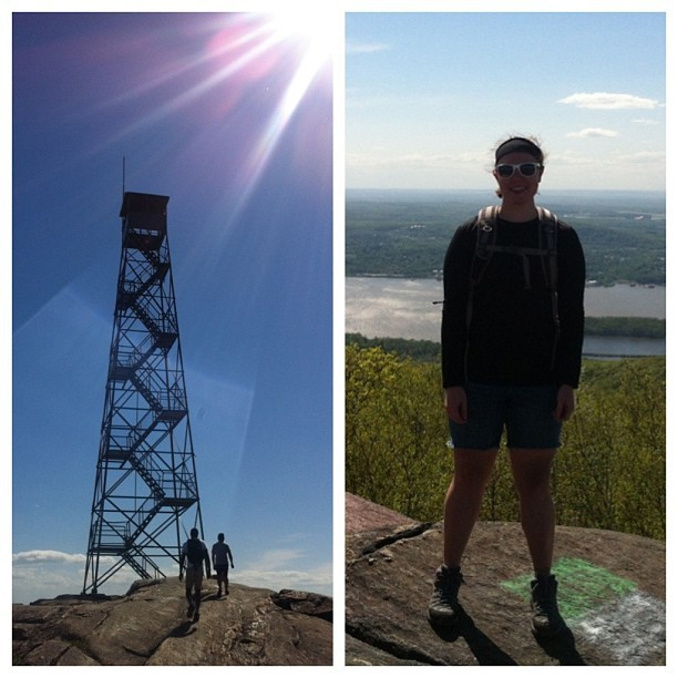 Mount Beacon Fire Tower! ☀🗻😁 (at Mount Beacon)