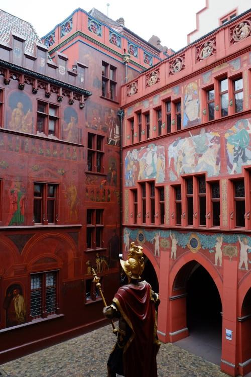 Basel Rathaus. March 2013.