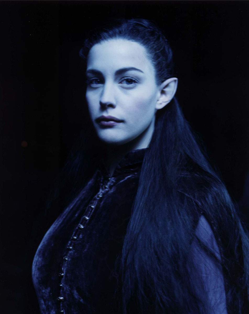 bohemea:  Liv Tyler - Lord of the Rings portrait by Hugh Stewart