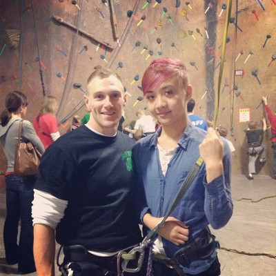 Mwuahahahaha!!! We is ready ;)) #Rockclimbing #Beastmode #Bam #Beatface #Fierce #Classy #Adventure #Date#1