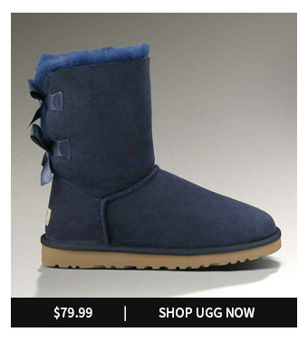 UGG BAILEY BOW 1002954 NAVY BOOTS