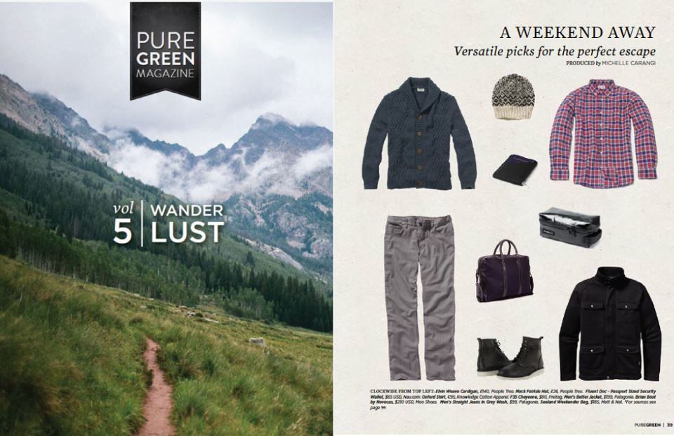 Our SEELAND is PURE GREEN'S versatile pick for the perfect escape this month!